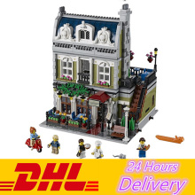 LELE 30007 Expert City Street Parisian Restaurant Model Building Blocks Bricks Kits Toy Compatible Lepin 15010 10243
