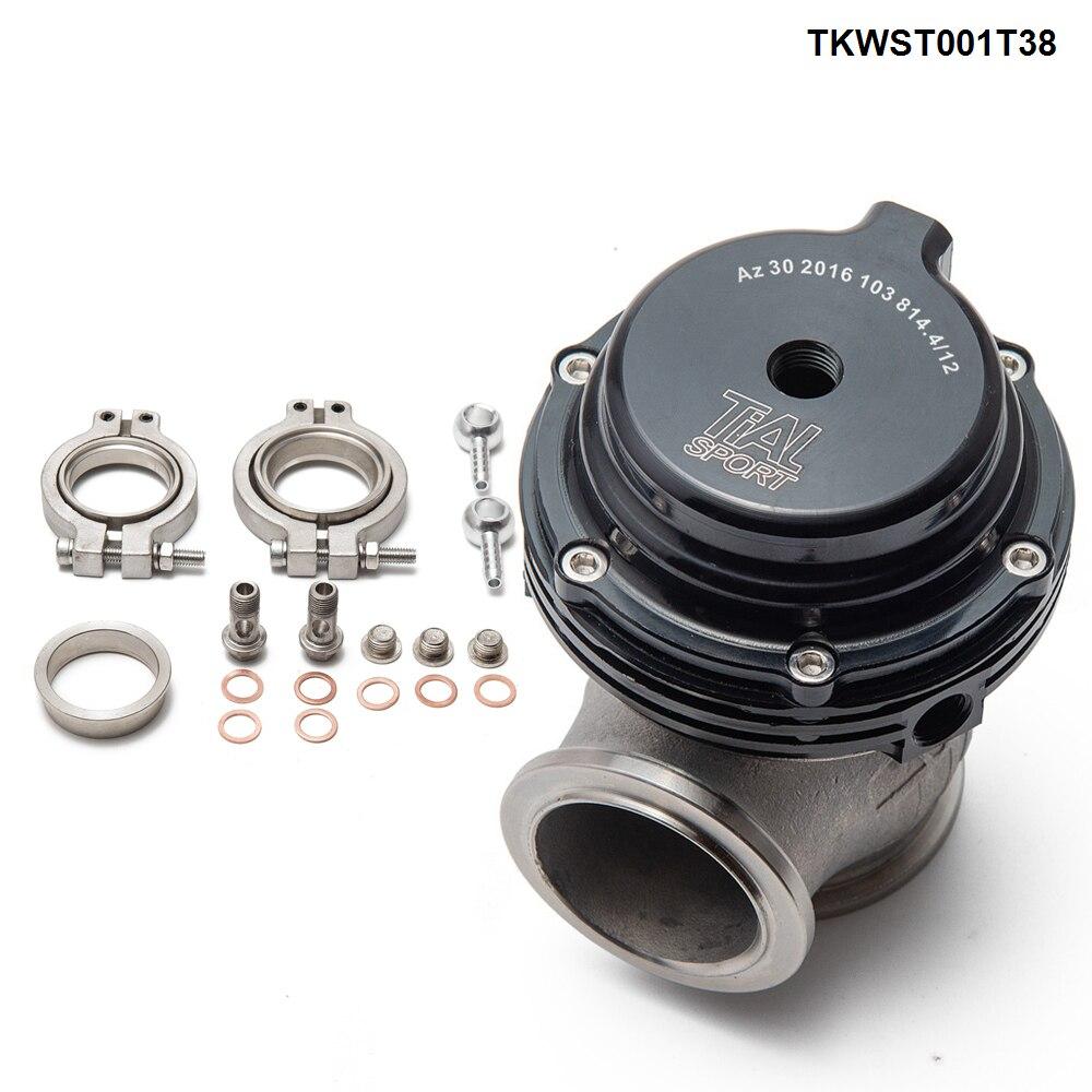 Portão de resíduos turbo pulseira v, 38mm de desperdício externo para supercarga turbo colector-3