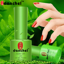 Danchel 9ml UV Gel Nail Polish Soak Off Varnish Semi Permanent LED Nail Polish Lacquer Gelpolish Primer Base Top Coat Nail Glue