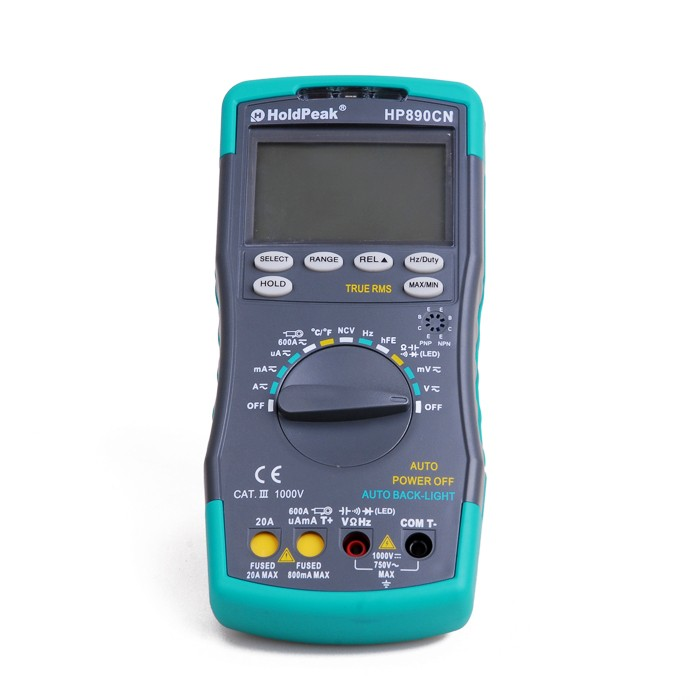 HP890CN HP-890CN AC DC Display LCD Elettrico Professionale Handheld Tester del Tester Multimetro Digitale Multimetro Amperometro Multitester