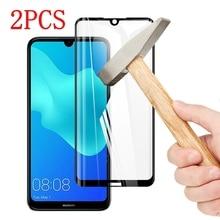 2 PCS Copertura Completa Completa Colla di Vetro Temperato Per Huawei Honor 8 S Protezione Dello Schermo pellicola protettiva Per Huawei Honor 8 S di vetro
