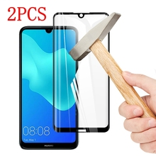 2PCS Full Cover Full Glue Tempered Glass For Huawei Honor 8S Screen Protector protective film For Huawei Honor 8S glass