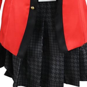 Image 5 - 7PCS 풀 세트 JP 애니메이션 가케 구루이 코스프레 의상 할로윈 Jabami Yumeko 코스프레 의상 Igarashi Sayaka Cosplay school uniform