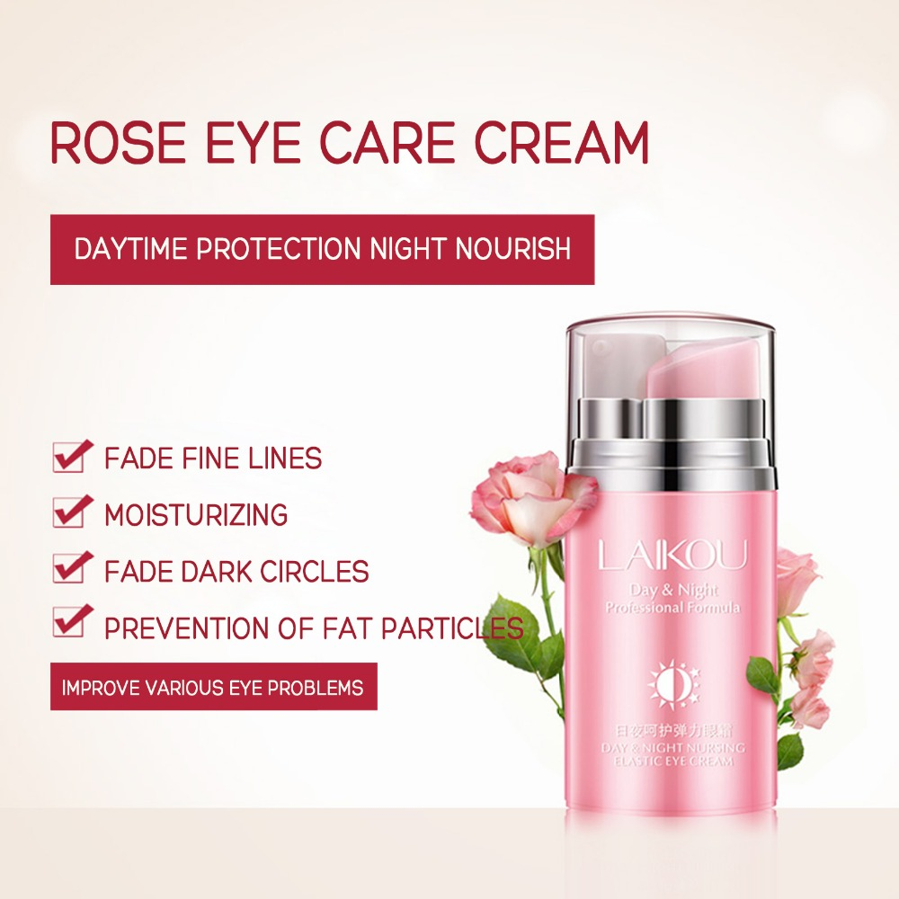Day and Night Elastic Eye cream Skin care Facial Anti- puffiness Face Care Dark circles Anti Wrinkle Aging Moisturizing Firming 6
