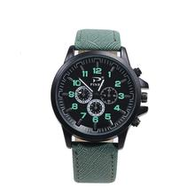 Fashion Wrist Watches For Lovers Leather Men's Women's Perso