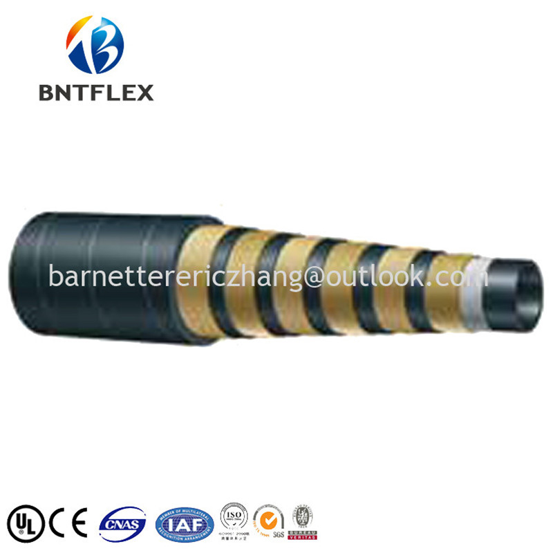 Made in China lowest price SAE steel wire reinforced hose hydraulic ...