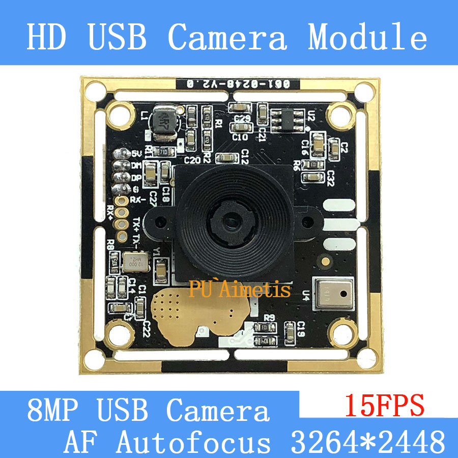 USB2 0 pure physical CCTV Camera HD 800W SONY IMX179 industrial level near remote AF Autofocus