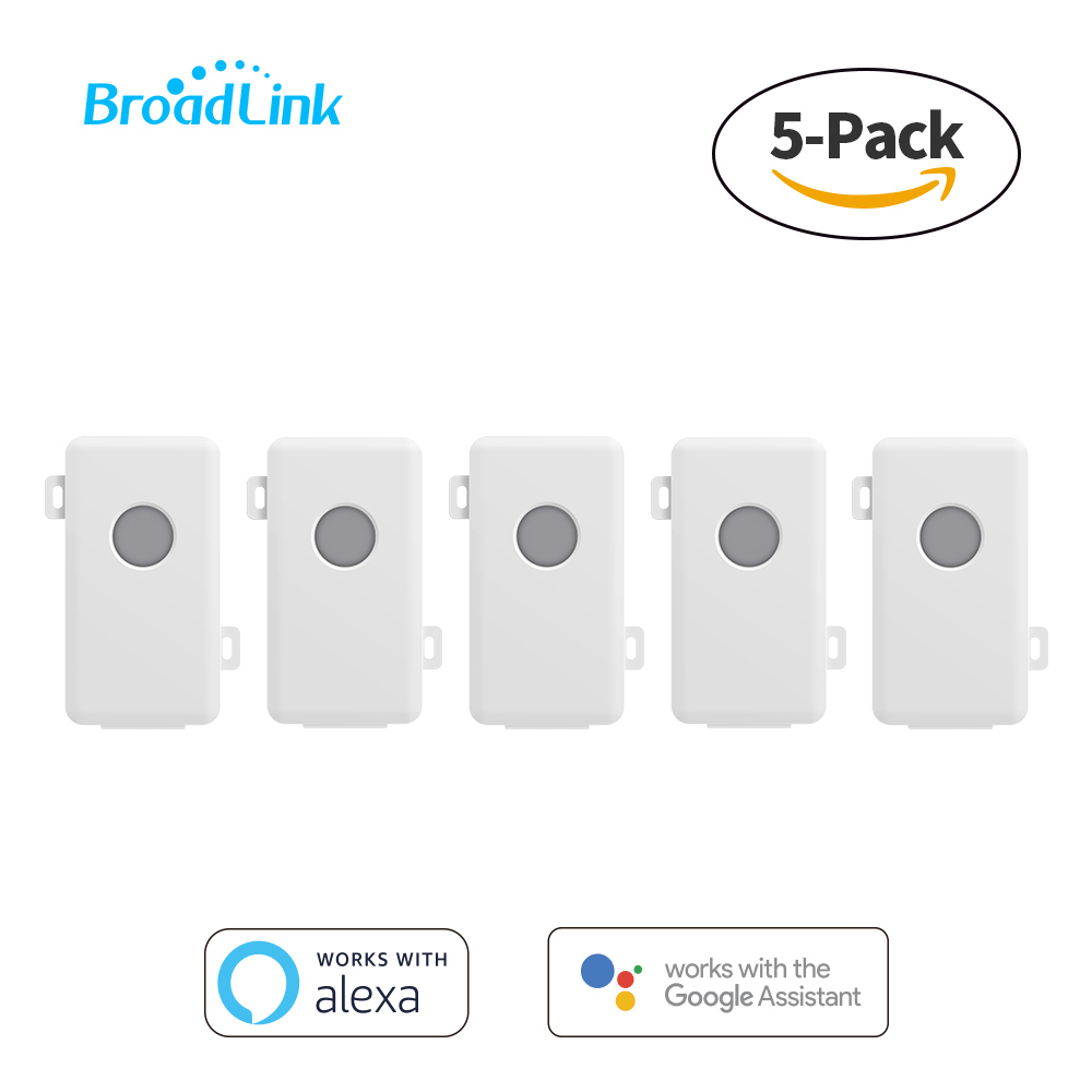 5Pcs Broadlink SC1 Wireless Remote Control Smart Home Automation Module Compatible Alexa Google Assisant Wifi Switch