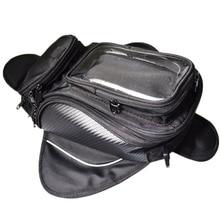 Мотоциклетная сумка на бак с сильным магнитом, Наклонная Сумка на одно плечо, дорожная сумка, водонепроницаемая сумка, мотоциклетное оборудование