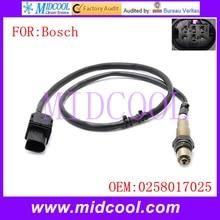 Новый датчик кислорода o2 использования oe № 0258017025 для bosch