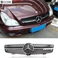 Hot vender W219 CLS300 CLS350 CLS500 CLS55 ABS Car Malha Grille Grills Amortecedor Dianteiro Para O Benz W219 CLS350 04-10