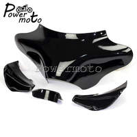 Motorcycle Front Outer Batwing Headlight Fairing Windscreen for Yamaha Honda VTX Harley Road King Softail FLST FLHR FLHX