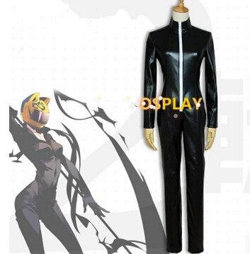 Free shipping Durarara  Celty Sturluson Jumpsuit Cosplay Costume