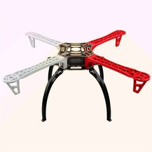 QX-Motor F450 Quadcopter Frame med integrerad PCB Fullset kit RC-hobby DIY quad drone FPV monterad klass Quadrocopter