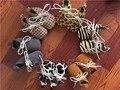 Mocca Handmade Lace Up Suaves Del Bebé Mocasines Zapatos Camuflaje Leopardo Punto Recién Nacido Prewalker de Bebé de Cuero Zapatos de Niño de Fondo Blando