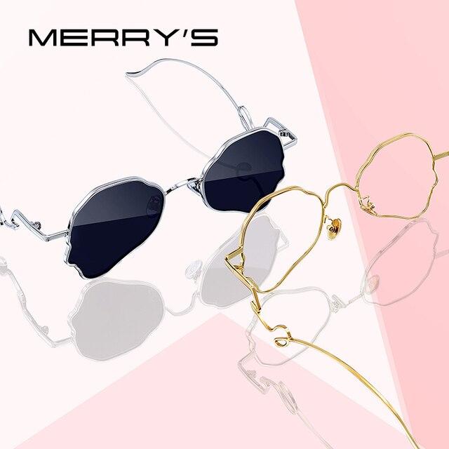 MERRYS дизайн женские роскошные брендовые солнцезащитные очки-бабочки женские модные трендовые солнцезащитные очки UV400 защита S6304