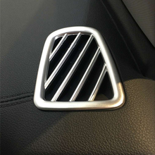 цена на For KIA Sportage 4 QL KX5 Car front air conditioner Outlet decoration Cover Trims ABS Chrome auto accessories car styling