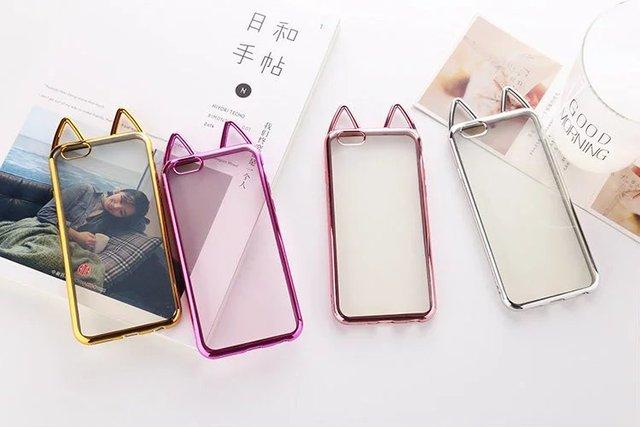 Cute Cat Phone Cases iPhone 6 s plus 6 plus 7 7 plus 5 5s