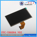 New 7'' inch LCD display FPC-Y86084 V02 LCD screen Module Replacement Free shipping