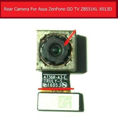 100% натуральная большая камера заднего вида для Asus ZenFone GO tv ZB551KL X013D Задняя Основная камера с шлейфом запасные части