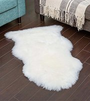 Genuine Sheepskin Rug Natural Fur Real Sheepskin Area Rug For Bedroom Sofa Cover Chair Pad Zealand & Australian Wool Rug Carpet