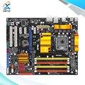 Para asus p5qc original usado p45 motherboard desktop para intel socket lga 775 ddr2/16g ddr3/8g sata2 usb2.0 atx
