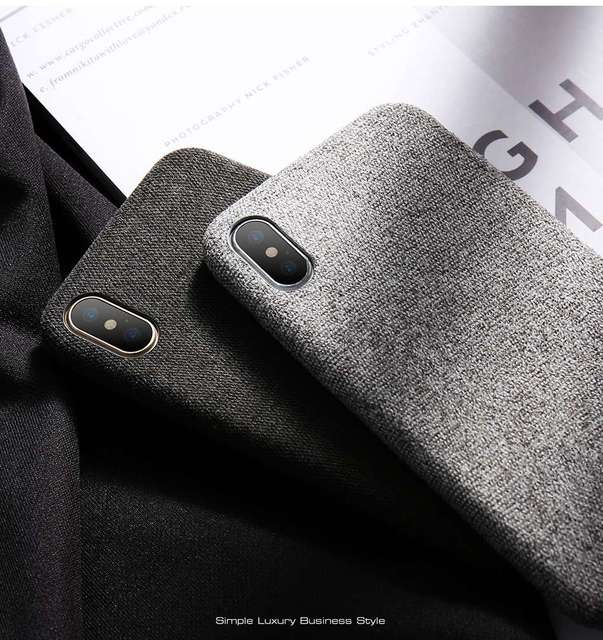 Ultra Thin Cloth Case for iPhone
