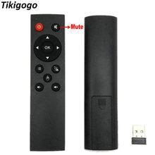 TIKIGOGO 2.4G Wireless air mouse Remote Control with USB rec