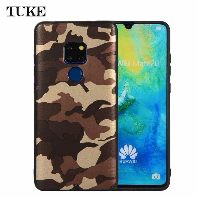Army Camouflage Custodia In Silicone Per Huawei P30 Pro P20 P10 Compagno di 20 10 Lite Y5 Y6 Y7 Prime 2018 Honor 9 P Smart NOVA 3I Molle Della Copertura
