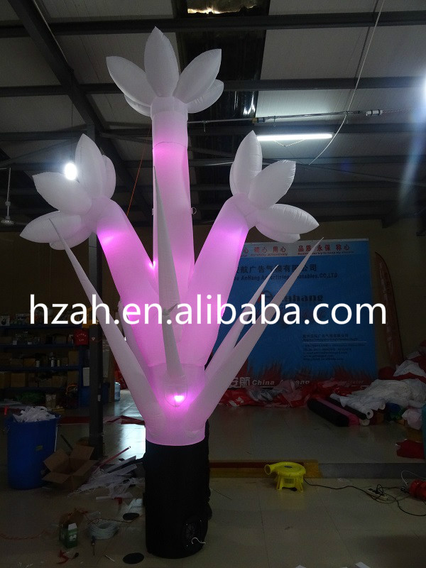 LED Lighting Inflatable Flower Tree for Party Decoration party decor inflatable rose flower with light