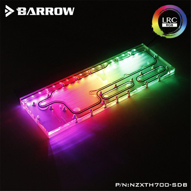 Barrow Waterway Board for IN NZXT H700 Case Water Way Plate LRC2.0(5V 3Pin) Motherboard AURA NZXTH700-SDB