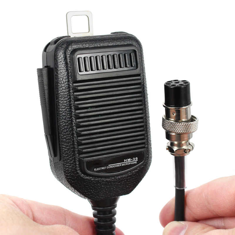 8 broches HM-36 Microphone Mic Pour ICOM HM36 IC-718 IC-775 IC-7200 IC-7600 IC-25 IC-28 IC-38 Voiture Radio Mobile Talkie Walkie