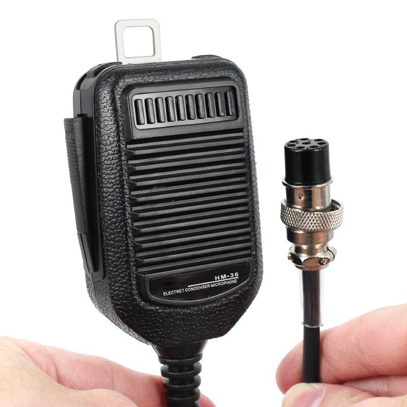 8 Pin HM-36 Mic Microfone Para ICOM HM36 IC-718 IC-775 IC-7200 IC-7600 IC-25 IC-28 IC-38 Carro Móvel Rádio Walkie Talkie