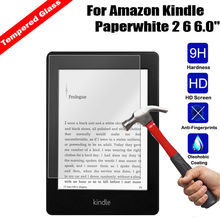 Для Amazon Kindle Paperwhite 1 2 3 анти-explosiontempered Стекло Экран протектор гвардии Плёнки для Kindle Paperwhite 1 2 3 9 H 0.3 мм
