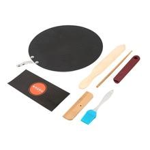 Antihaft Pfanne Pizza Steak Crepes Pfannkuchen Topf Kochen Pan Bratpfannen  Kit Lebensmittel Kochgeschirr Tools Set Für Gas Induk.