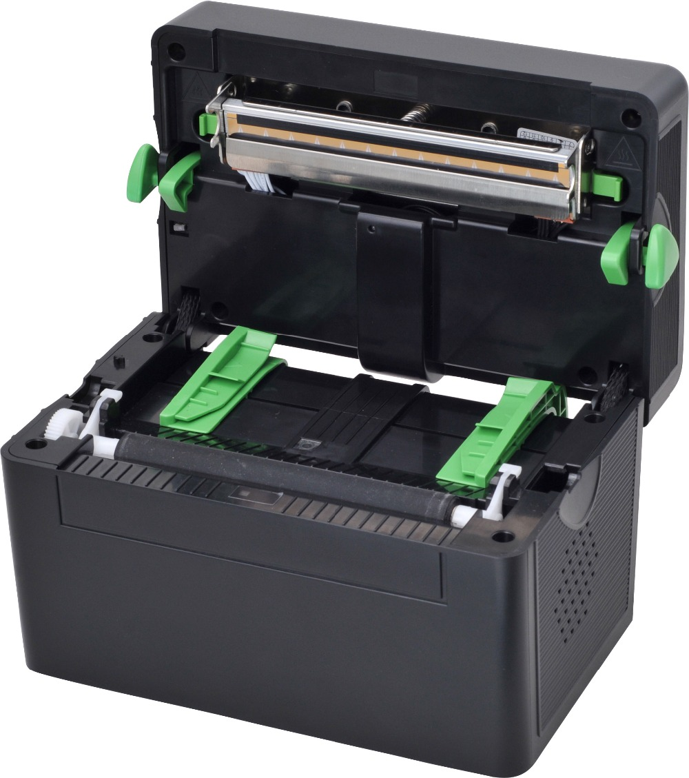 4 Inch Thermal Shipping Label Printer Sticker Barcode Printer Price Tag  Maker USB Port 2D Barcode FREE Bar code Edit Software