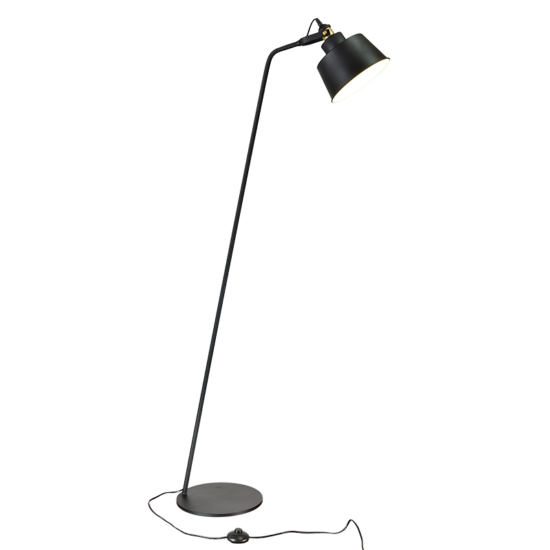 Post modernes Design Stehleuchte Schwarz Weiß Metallständer Licht ...