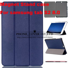Magnetic Stand pu leather Case cover For Samsung Galaxy Tab S2 8 0 T710 SM T715