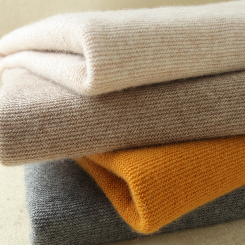 High Quality Women Sweaters 100% Cashmere Jumpers Menca Sheep New Fashion Turtleneck Pullovers Female Standard Knitwear Clothes ...