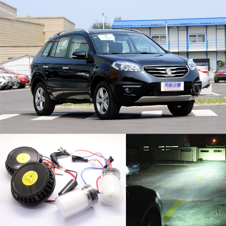 Ownsun New Generation All In One Lower/High Beam Error Free H7 HID Lights For Renault  Koleos