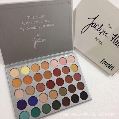 Fovolet Best 35 Color Eye shadow Palette font b Makeup b font Matte EyeShadow Palette Make
