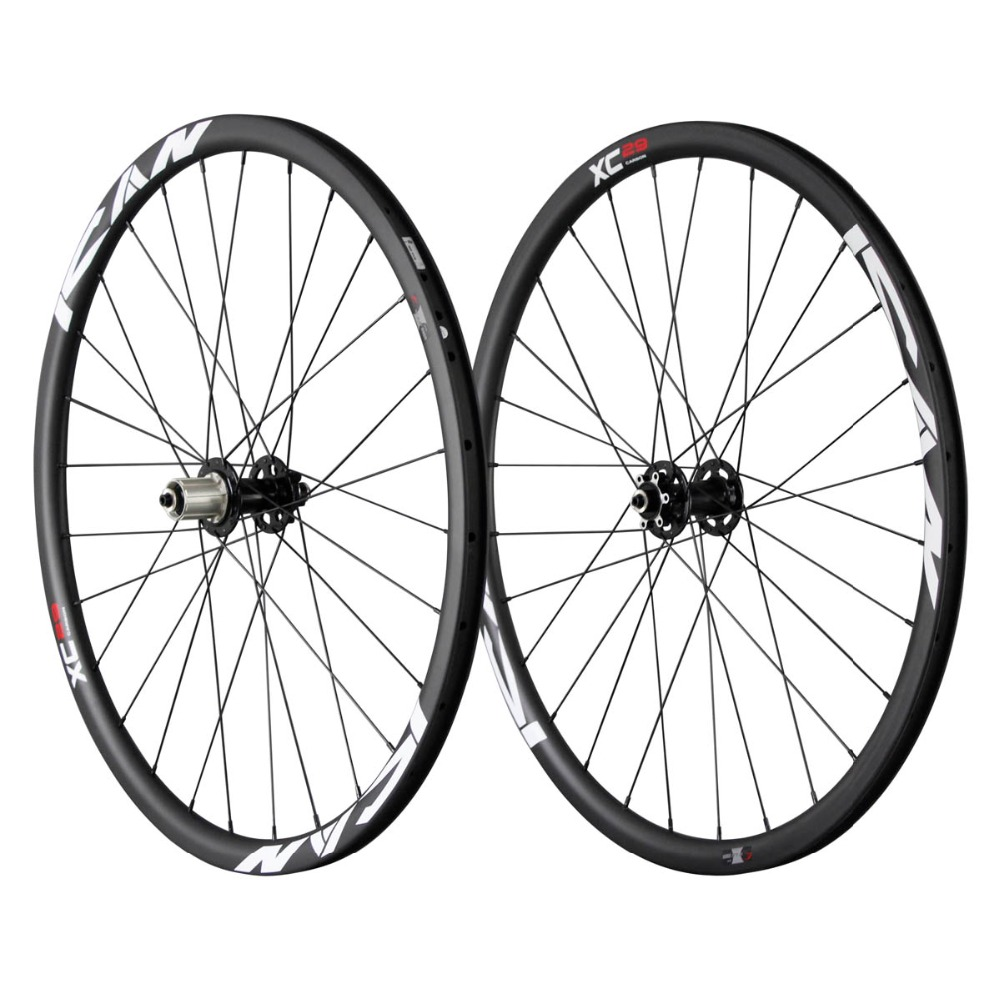 Full carbon bike wheelUD matte clincher carbon mountain bike wheelset 26mm wide bicycle carbon cyclocross wheels 29ER-25C hookless wheels carbon 29er mtb wheelset 27 5er wheelset mtb carbon wheels 29er bicycle wheels 650b mountain wheels carbon rims