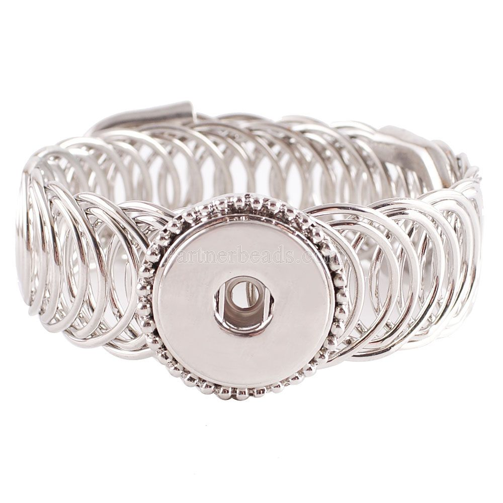 <font><b>great</b></font> <font><b>seller</b></font> high best Interchangeable snap bracelets jewellery for 18-20mm snaps match ginger snaps KC0622