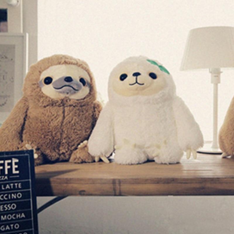 QWZ სიმულაცია Sloth Baby Doll Lifelike Sloth Plush - პლუშები სათამაშოები - ფოტო 5