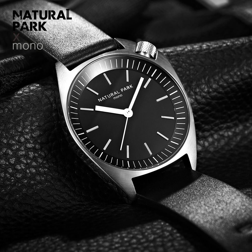 NATURAL PARK Leather Men Watch 2018 Top Brand Luxury Famous Wristwatch Male Clock Waterproof Quartz Watch