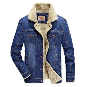 Image 2 - BOLUBAO Winter Men Denim Jackets Coat New Mens Street Trend Jackets Male Brand Plus Velvet Thickening Denim Jacket Coats