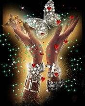 NEW Arrival 5d diy diamond embroidery animal birds butterfly hand diamond painting cross stitch full Square mosaic rhinestone new arrival diy diamond painting hand butterfly diamond embroidery cross stitch full square mosaic rhinestone embroidery