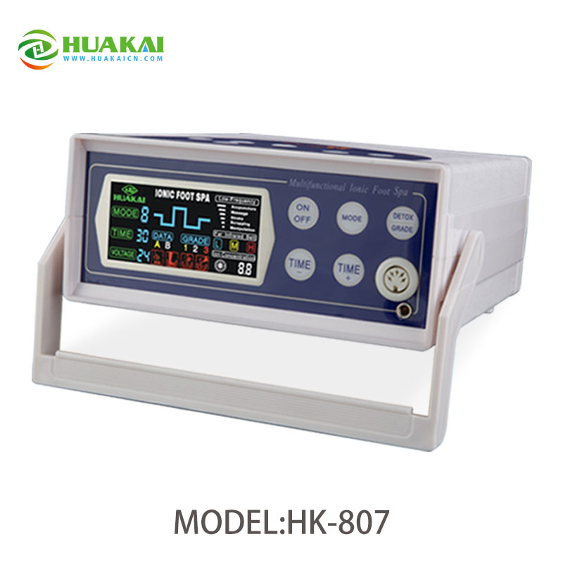 Newly HK-807A With 5 Mode Low-frequency Detox Foot Spa For Home Use 2016 newly hot selling detox foot spa hk 807a