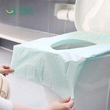 10 шт./пакет Туалет Бумага коврик кемпинг одноразовое покрытие на сиденье унитаза коврик набор аксессуаров для путешествий банные принадлежности для гостиницы