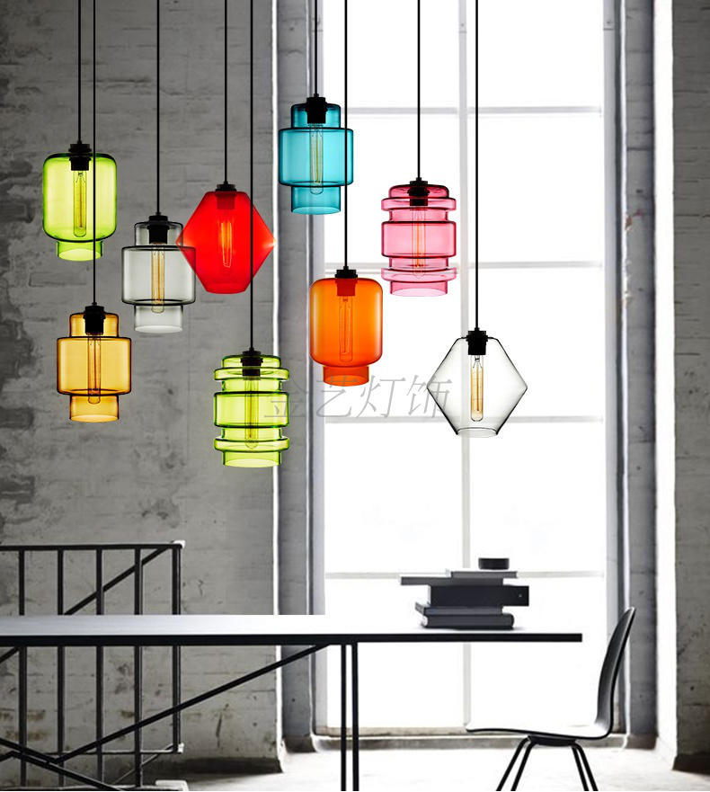 Modern hanging lamp light LED dinning bed room bedroom foyer round glass ball black gold nordic simple modern pendant light lamp modern simple frp resin foyer e27 led pendant light marcel wanders led pendant lamp internal pattern skygarden led hanging lamp